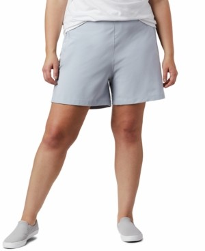 Columbia Plus Size Pfg Tidal Ii Adjustable-Waist Spf Shorts