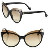 Balenciaga 57MM Injected Cat Eye Sunglasses