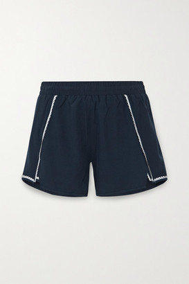 The Upside Blazen Scalloped Shell Shorts - Navy
