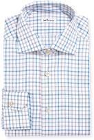 Kiton Check Cotton Dress Shirt