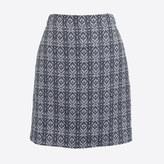 J.Crew Factory Jacquard mini skirt
