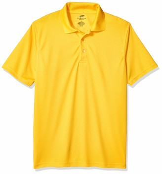 UltraClubs Men's ULTC-8210-Cool & Dry Mesh Pique Polo