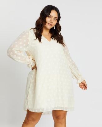 Atmos & Here Lauren Dobby Smock Dress