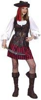 Fun World Costumes High Seas Female Buccaneer Costume - Adult Costume - (8-14)