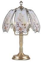 OK Lighting Hummingbird Motif Touch Lamp - 23.5