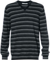 Vince striped cashmere jumper