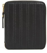 Comme des Garcons 'Embossed Stitch' French Wallet