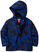 Joe Fresh Camo Rain Coat (Toddler & Little Boys)