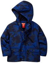 Joe Fresh Camo Rain Coat (Toddler & Little Boys)