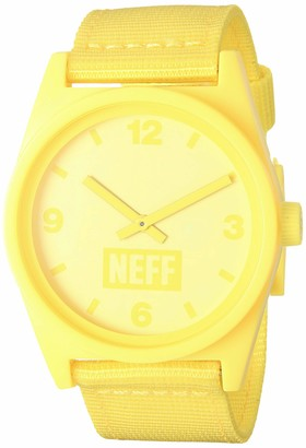 Neff Adult's Daily Analog Watch with Silicone Band Unisex