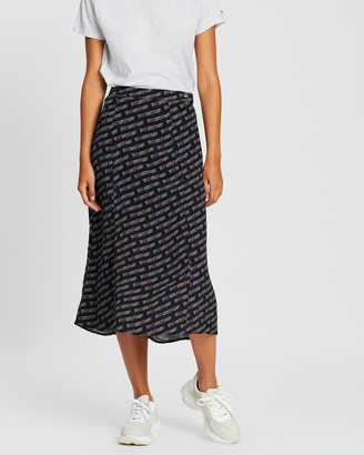 Tommy Jeans Outline Print Skirt