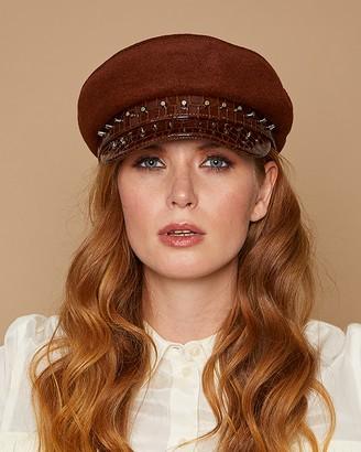 Eugenia Kim Marina Chauffeur Hat