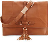 Foley + Corinna Bo Convertible Flap Clutch Bag, Medium Brown