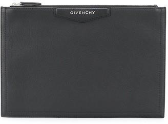 Givenchy Logo Plaque Clutch