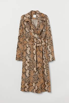 H&M Lyocell trenchcoat