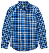 Ralph Lauren Childrenswear Plaid Cotton Twill Collared Shirt