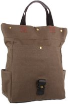 Petunia Pickle Bottom Tactical Toco-00-296 Tote,Brown Coated Canvas,One