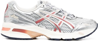 Asics Metallic Lace-Up Trainers
