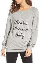 The Laundry Room Women's Freakin' Weekend Cozy Lounge Sweatshirt
