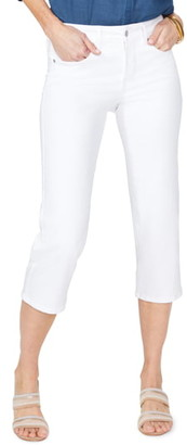 NYDJ Straight Leg Capri Jeans