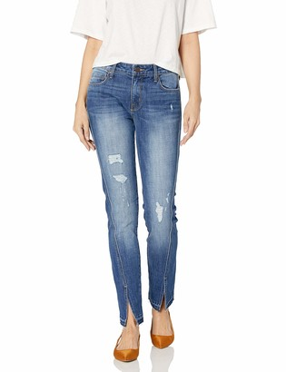 Parker Smith Women's Twisted Seam Straight Jean