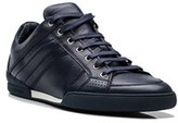 Christian Dior Men's Leather Low Top Sneaker Shoes Blue.