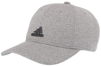 adidas VFA Relaxed Fit Adjustable Cap (Heather Grey/Gunmetal) Baseball Caps