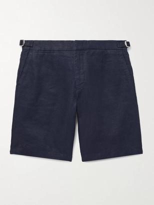 Orlebar Brown Norwich Slim-Fit Linen Shorts