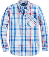 Tommy Hilfiger Little Boys' Long-Sleeve Plaid Shirt