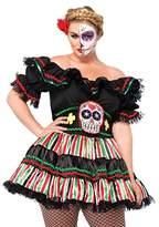 Leg Avenue Day of the Dead Doll Plus Size Costume
