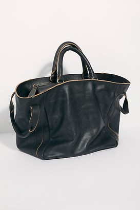 Free People Fp Collection Leslie Leather Tote by FP Collection at