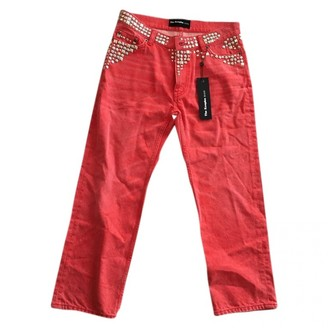 The Kooples Red Cotton Jeans for Women