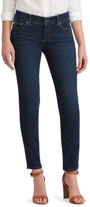 Chaps Women's Twill Midrise Straight-Leg Pants
