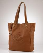 Lauren Ralph Lauren Handbag, Putnam Leather Tote