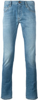 Armani Jeans washed skinny jeans - men - Cotton/Spandex/Elastane - 32