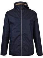 Burton Burton Rvlt Navy Hooded Short Metal Zip Jacket *