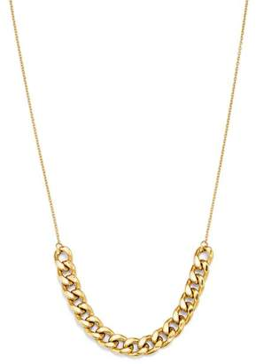 Chicco Zoë 14K Yellow Gold Large Curb Chain Necklace, 18""