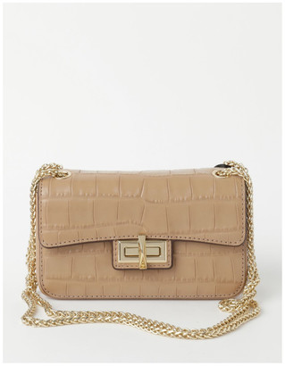 DKNY R02EPI687SC JOJO MINI Flap Over Crossbody Bag