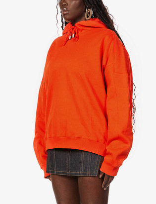Fenty by Rihanna Graphic-print oversized cotton-jersey hoody
