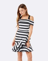 Forever New Ruffle A-line Dress