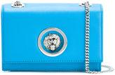 Versus lion plaque crossbody bag - women - Cotton/Calf Leather/Metal (Other) - One Size