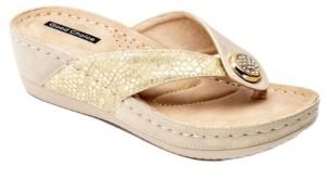 GC Shoes Dafni Wedge Sandal Women's Shoes