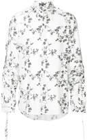 Ann Demeulemeester floral print shirt