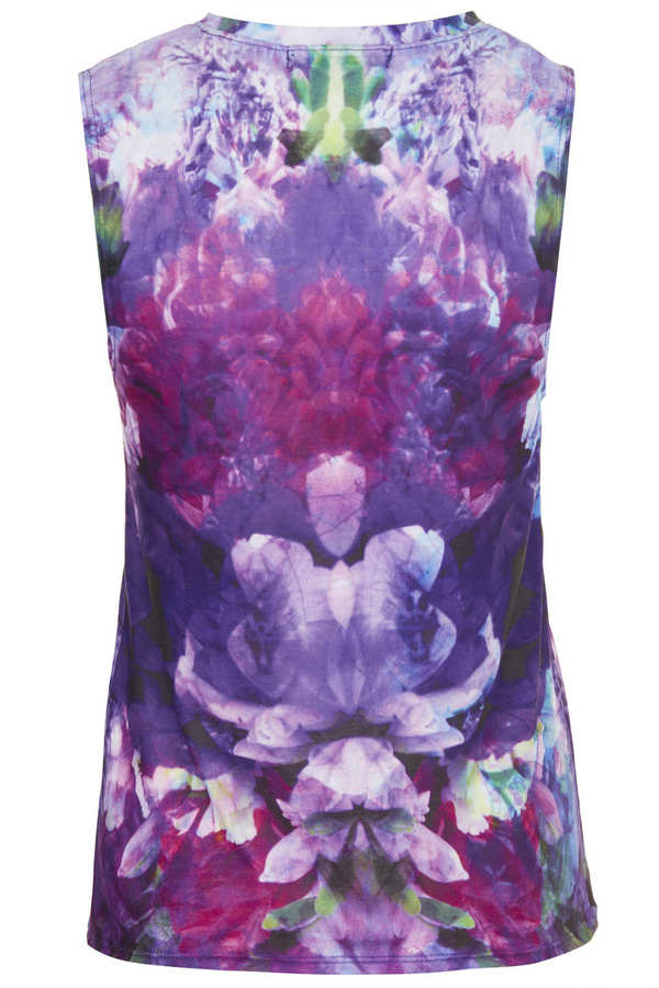 Topshop Flowers Tank By Workshop