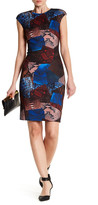 Catherine Malandrino Printed Sheath Dress