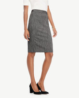 Ann Taylor Herringbone Pencil Skirt
