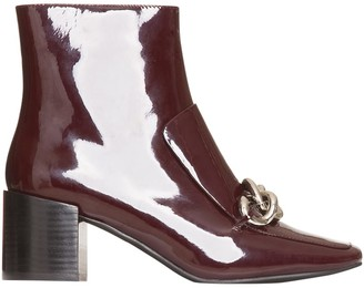 Jeffrey Campbell Ankle Boots In Patent Leather