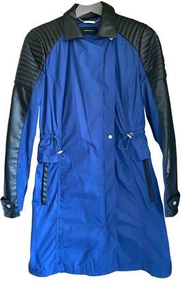 Karen Millen Blue Leather Jacket for Women