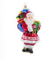 Kurt Adler Polonaise Glass Santa Claus Ornament
