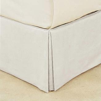 OKA Bed Valance 100% Cotton, Super King - White